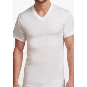 Stanfield's Men's Premium 100% Cotton V-Neck T-Shirt- 2 Pack