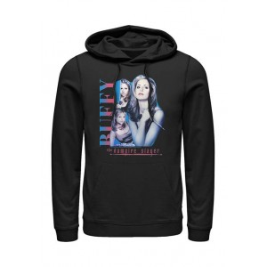 Buffy the Vampire Slayer Buffy the Vampire Slayer Buffy Collage Graphic Fleece Hoodie