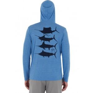 Guy Harvey® Men's Billfish Long Sleeve Hoodie
