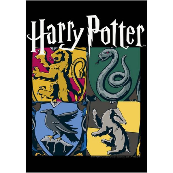 Harry Potter™ Harry Potter All Houses Fleece Graphic Hoodie