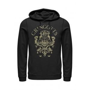 Harry Potter™ Harry Potter Gringotts Logo Fleece Graphic Hoodie