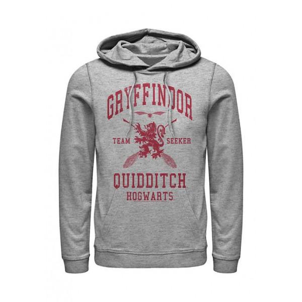 Harry Potter™ Harry Potter Gryffindor Quidditch Seeker Fleece Graphic Hoodie