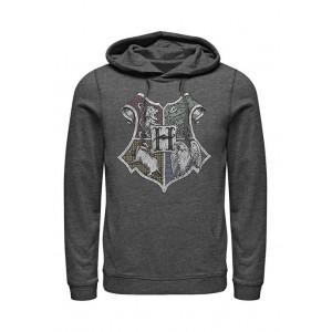 Harry Potter™ Harry Potter Hand Drawn Crest Fleece Graphic Hoodie