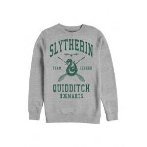 Harry Potter™ Harry Potter Slytherin Quidditch Seeker Crew Fleece Graphic Graphic Sweatshirt