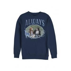 Harry Potter™ Harry Potter Snape and Lily Always Crew Fleece Graphic Sweatshirt