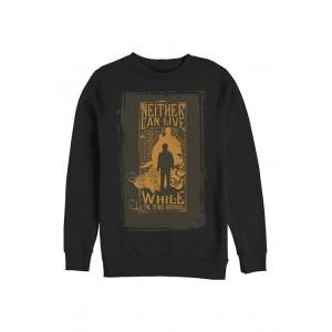 Harry Potter™ Harry Potter Voldemort and Harry's Prophecy Crew Fleece Graphic Sweatshirt
