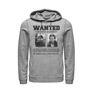 Home Alone Home Alone Wet Bandits Wanted Poster Graphic Fleece Hoodie