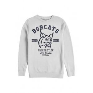 Julie and the Phantoms Collegiate Bobcats Crew Fleece Graphic Sweatshirt