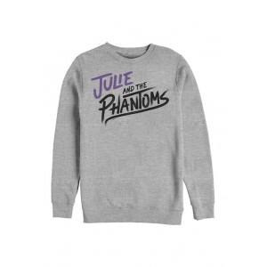 Julie and the Phantoms Stacked Logo Crew Fleece Graphic Sweatshirt