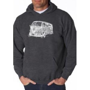LA Pop Art Word Art Hooded Sweatshirt - The 70s