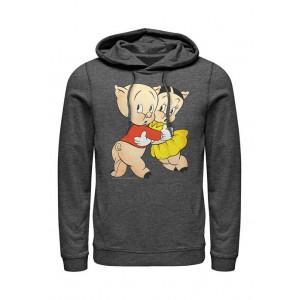 Looney Tunes™ Swine Embrace Graphic Fleece Hoodie