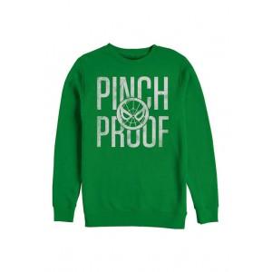 Spider-Man Marvel Spidey Pinch Proof Graphic Crew Fleece Sweatshirt