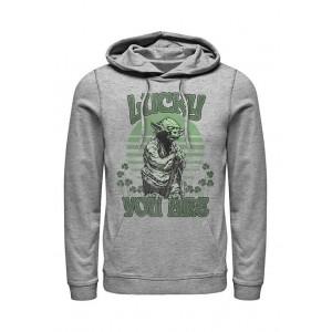 Star Wars® Star Wars™ Lucky Is Yoda Graphic Fleece Hoodie