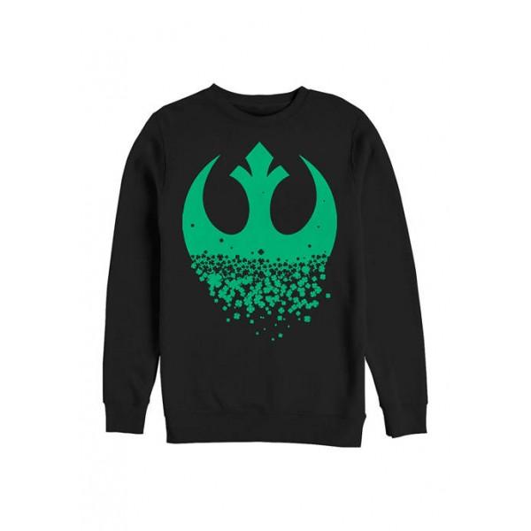 Star Wars® Star Wars™ Rebel Clover Graphic Crew Fleece Sweatshirt