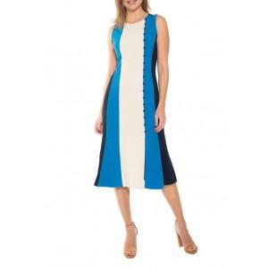 Alexia Admor Women's Anna Color Block Dress
