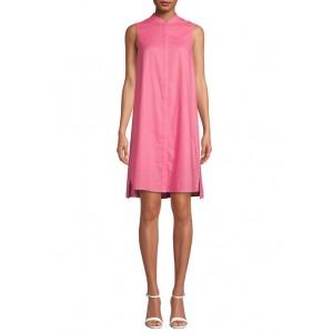 Anne Klein Women's Linen Trapeze Dress