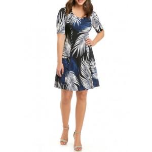 Karen Kane Women's Seamed A Line Dress