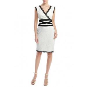Kimi & Kai Women's Lace Sheath Dress