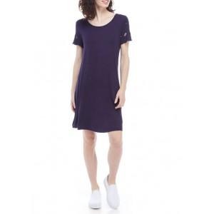 Ronni Nicole Women's Embroidered Shift Dress
