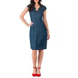 Standards and Practices Belinda V Neck Princess Line Dress