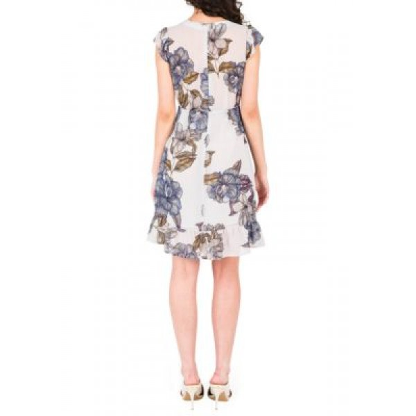 Standards and Practices Dion Printed Dress