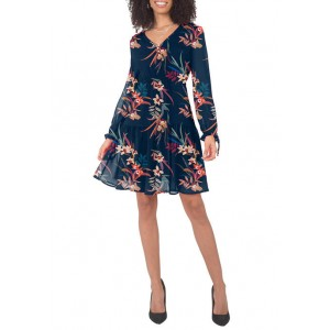 Standards and Practices Women's Printed Prairie Tiered Dress