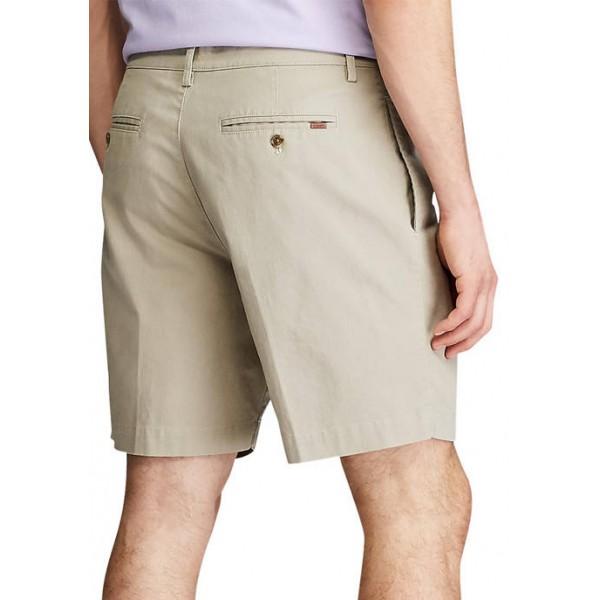 Chaps Coastland Wash Pleated Shorts