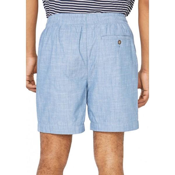 Nautica 7 Inch Classic Fit Chambray Boardwalk Shorts