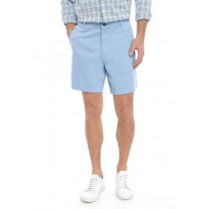 Saddlebred® Comfort Flex 7 Inch Twill Shorts