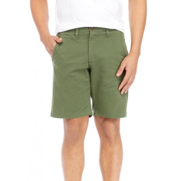 TRUE CRAFT 9 Inch Flat Front Shorts
