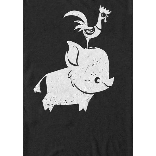 Disney® Moana Pua and Hei Hei Short Sleeve T-Shirt