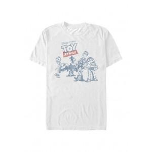 Disney® Pixar™ Toy Story Vintage Comic Short Sleeve Graphic T-Shirt