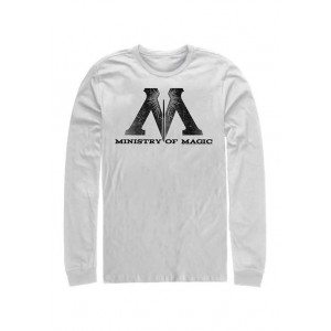 Harry Potter™ Harry Potter Ministry of Magic Logo Long Sleeve Graphic Crew T-Shirt