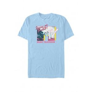 MTV Spring Break 87 Wave Colorful Logo Short-Sleeve T-Shirt
