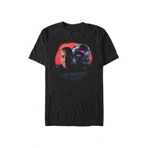 Star Wars The Mandalorian Star Wars The Mandalorian MandoMon Episode 7 Dark Force Graphic T-Shirt