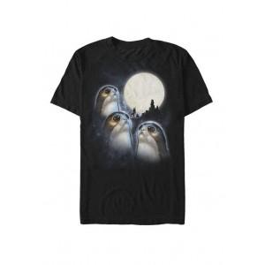 Star Wars® Moonlight Howling Porgs Short Sleeve T-Shirt
