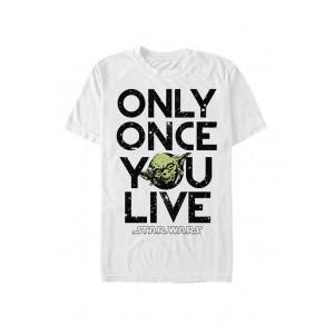 Star Wars® Yoda Lives Once Short-Sleeve T-Shirt
