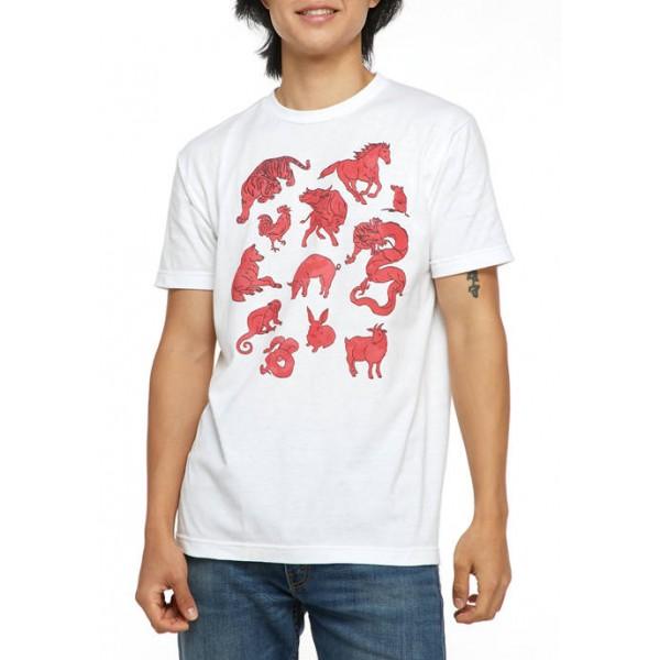 V-Line V-Line Chinese Horoscope Graphic T-Shirt