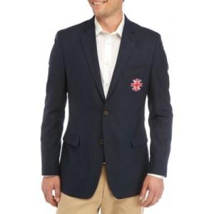 Austin Reed Navy Union Crest Jacket