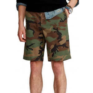 Polo Ralph Lauren 10 Inch Relaxed Fit Camouflage Chino Shorts