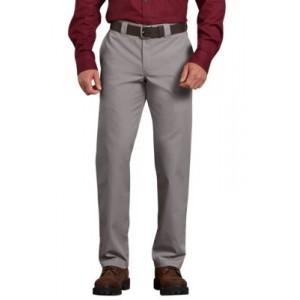 Dickies® Men's Slim Fit Straight Leg Poplin Work Pants
