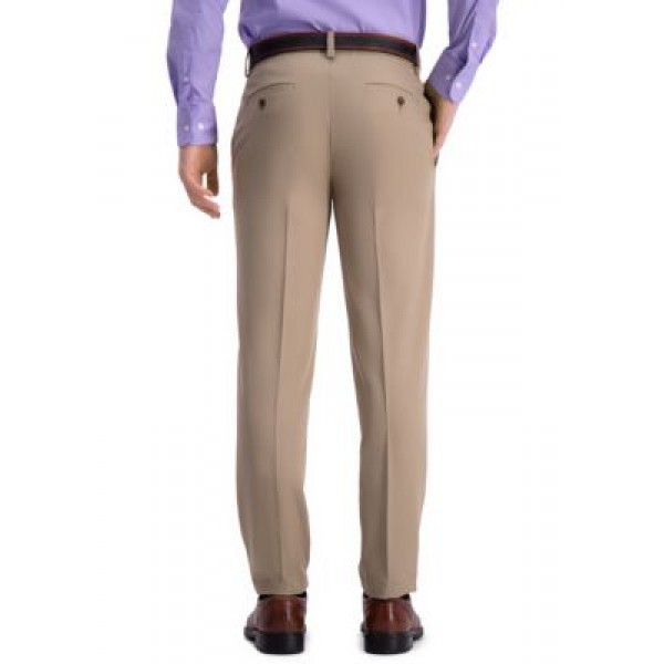 Haggar® Slim Fit Premium Flex Waistband Flat Front Pants