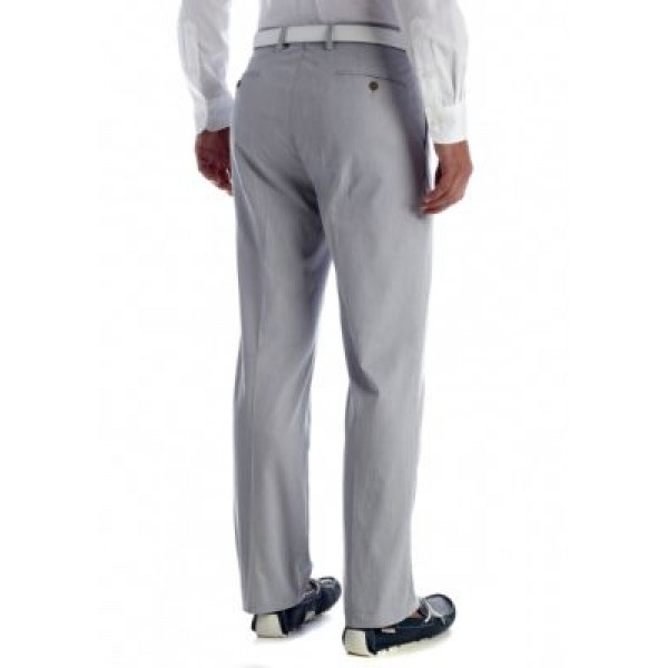 Kenneth Cole Reaction Stepweave Solid Pant