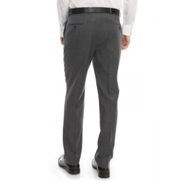 Lauren Ralph Lauren Gray Shark New Ultra Flex Pants