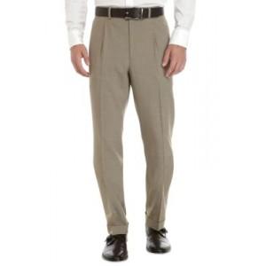 Lauren Ralph Lauren Ultraflex Tan Stretch Dress Pants