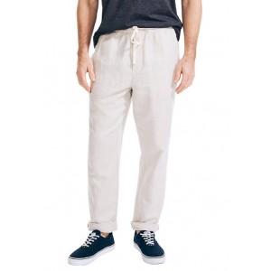 Nautica Classic Fit Drawstring Linen Pants