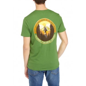 Columbia Short Sleeve New Challenges Graphic T-Shirt