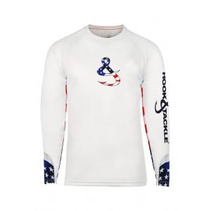 Hook & Tackle Men's Liberty High Performance Sun Protection Fishing Shirt