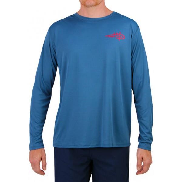 Reel Life Long Sleeve 'Merica Performance T-Shirt