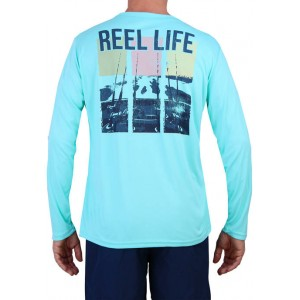 Reel Life Long Sleeve Trolling Performance T-Shirt